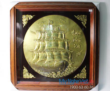 Tranh Đồng Thuận Buồm Xuôi Gió DD45