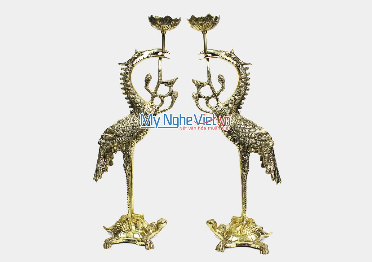 Đôi hạc Đồng - Bộ thờ cúng MNV-DD17-35