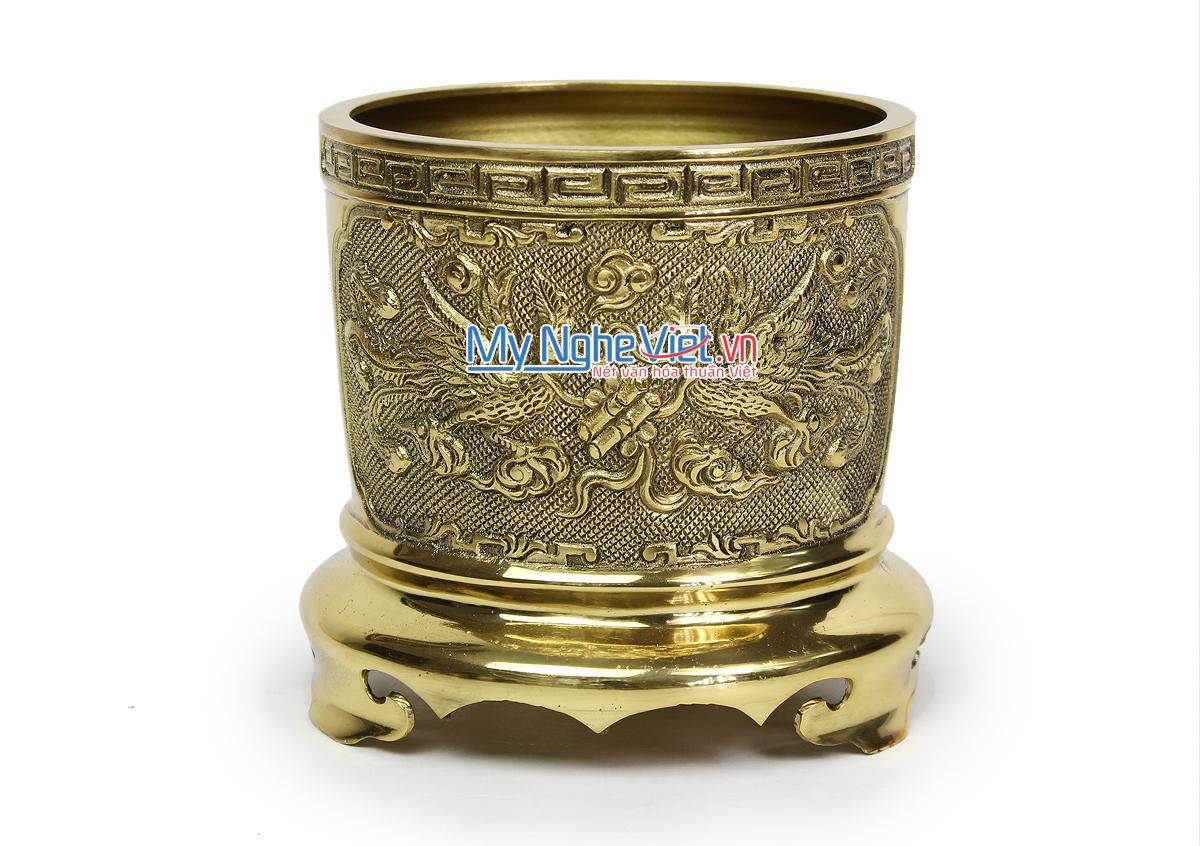 Bát hương đồng - Bộ thờ cúng MNV-DD27-3