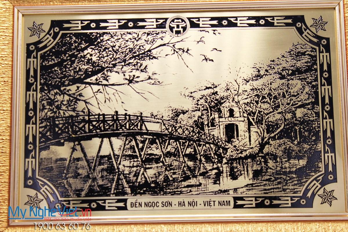 Tranh Đồng Đền Ngọc Sơn DD41