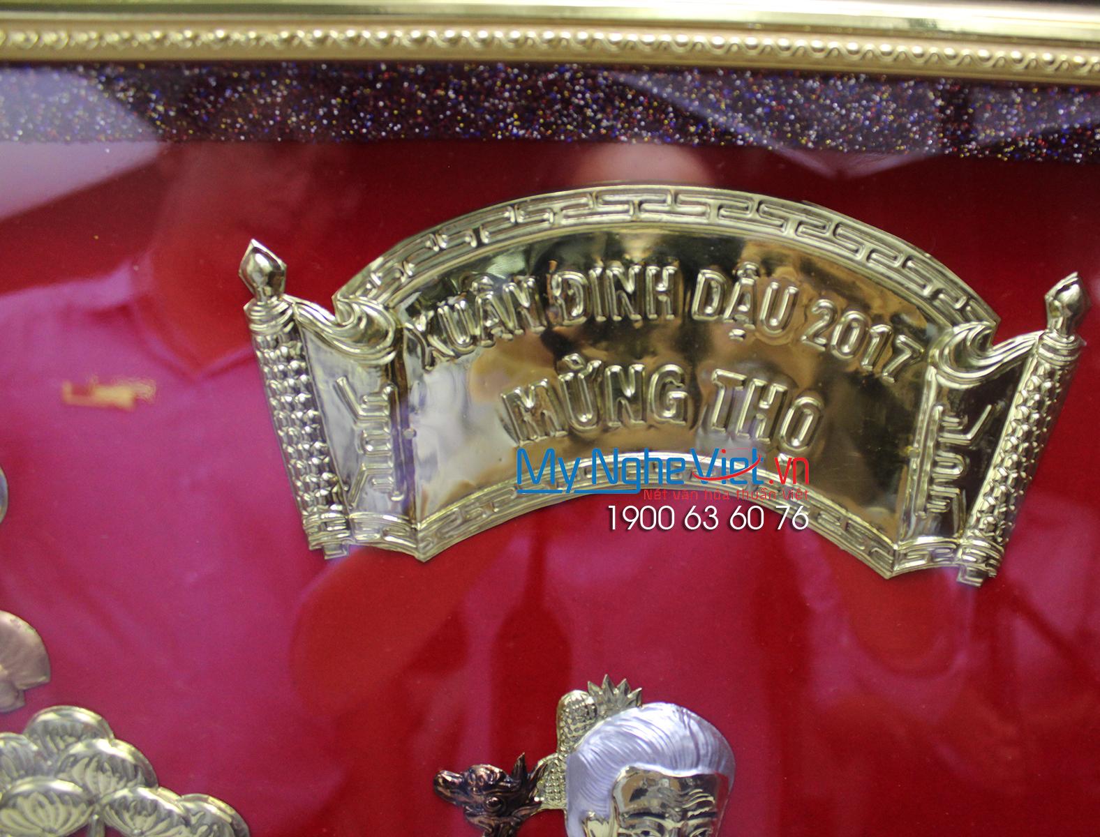 Tranh đồng Mừng Thọ Bà MNV-DDLA701201